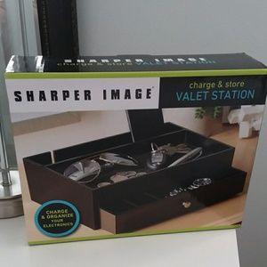 Brand New Sharper Image Valet Station